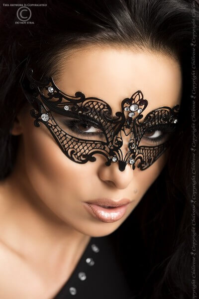 Edle Luxus Maske