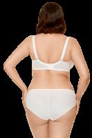 Gepolsterter BH weiß/creme Plus Size 100D