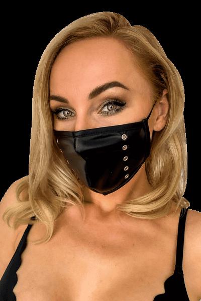Mund- und Nasen-Maske mit Nieten