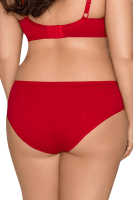 Roter Slip Plus Size
