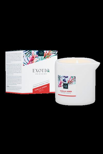 Exotiq Massagekerze Vanilla Amber - 200g